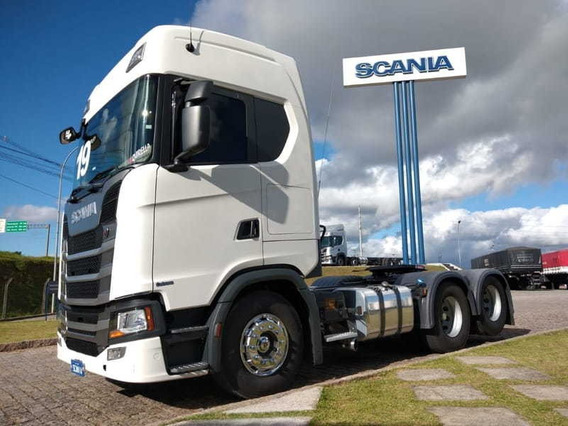 Scania S 450, 6x2, 2019 Scania Seminovos Pr 8d43