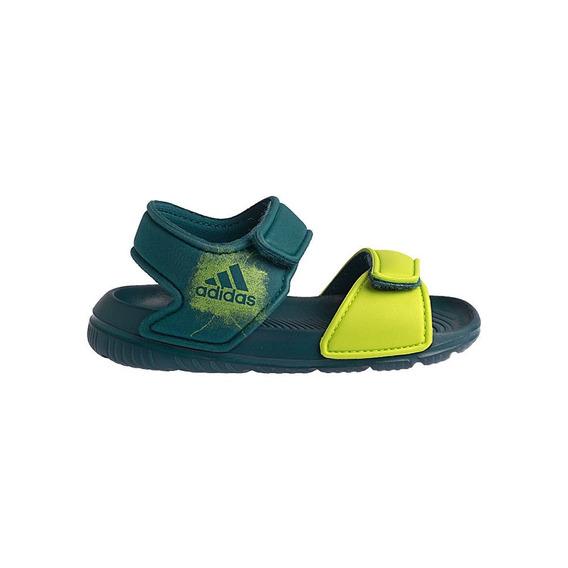 Sandália Papete adidas Altaswim C Infantil Masculino Verde