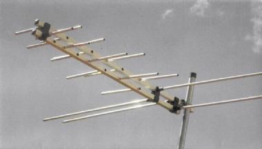 Antena Digital E Analógico 4em1 Hdtv Log 16 Elementos