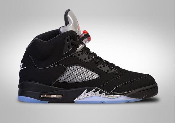 Zapatillas Jordan Retro 5 Black Metallic Talla 42