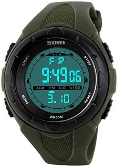 Relógio Masculino Skmei 1025 Digital Escalada Alarme 50m