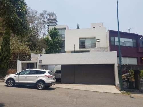 Venta De Increíble Residencia En Lomas De Sta Fe 5 Recamaras
