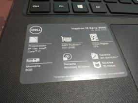 Notebook Dell I7 8° Geração