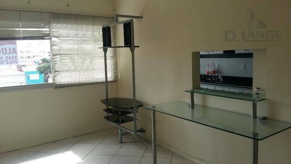 Apartamento Com 1 Dormitório Para Alugar, 50 M² Por R$ 900,00/mês - Vila Itapura - Campinas/sp - Ap8209