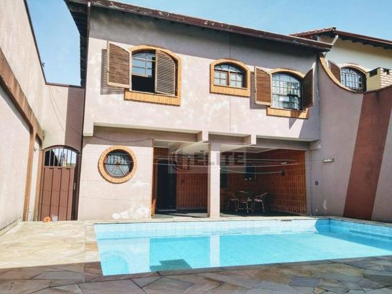 Sobrado Com 5 Dormitórios À Venda, 389 M² Por R$ 1.599.000 - Vila Alpina - Santo André/sp - So1850