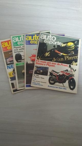 Revista Auto Esporte Ano 1987- Vários Meses