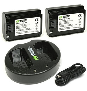 Cargador Usb Dual Para Sony Np-fz100
