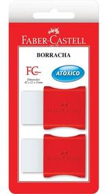 Borracha Faber-castell Tk Com Cinta Plástica Pequena - Blis