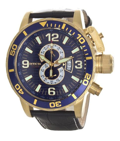 Relógio Masculino Invicta De Couro 4904