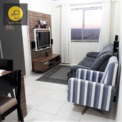 Apartamento Residencial À Venda, Vila Bela Flor, Mogi Das Cruzes. - Ap0128