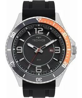 Relógio Technos Masculino Analógico Puls Silicone 2115msj/8p