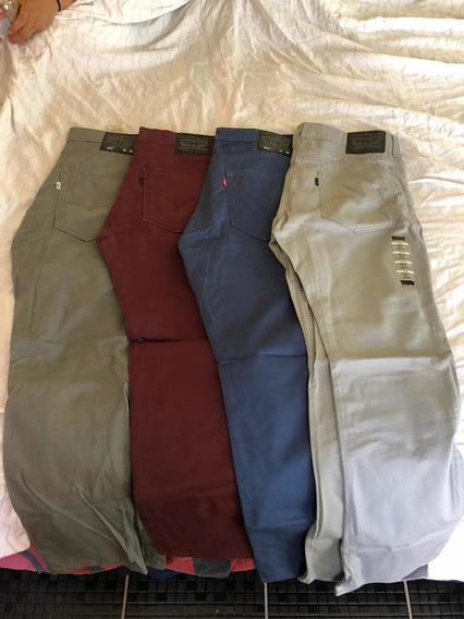 Oferta De Pantalones Levis Corte 511 En Diferentes Colores