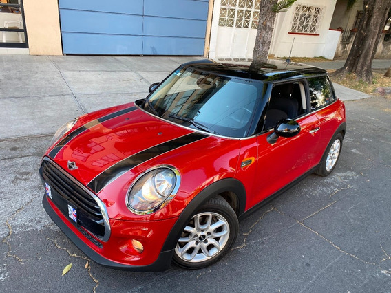 Hermoso E Impecabl ! Mini Cooper 2016 Automatico Turbo
