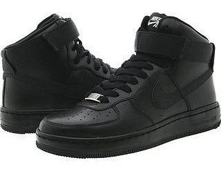 Tênis Nike Air Force One Mid Preto