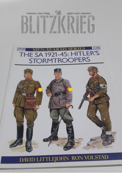 Livro The Sa 1921-45 Stormtroopers Segunda Guerra