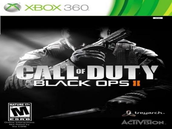 Call Of Duty Black Ops 2 Xbox 360 Original Mídia Digital