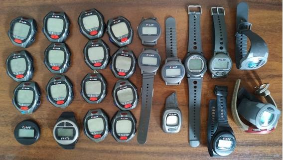 Lote Com 26 Relógios Smartwatchs Gps Polar - Não Funcionam