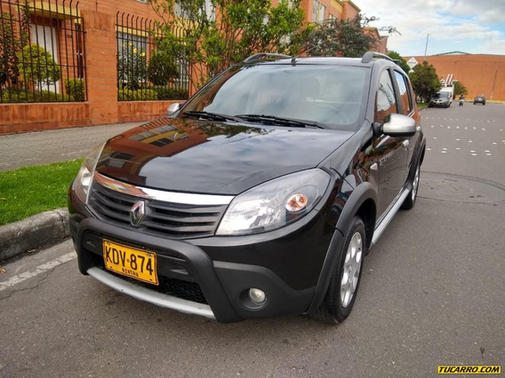 Renault Sandero Stepway Dynamique 1600 Mt Aa Ab Abs