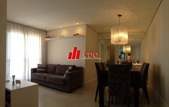 Apartamento 57 M2, 2d, 1s, 1v E Lazer, Permuta, C. Limpo Sp - 745-vr