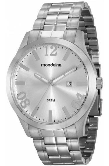 Relógio Mondaine 99115g0mvna1 Pulso Aço Inox
