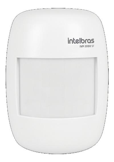 Sensor Infravermelho Alarme Sem Fio Intelbras Ivp 2000sf