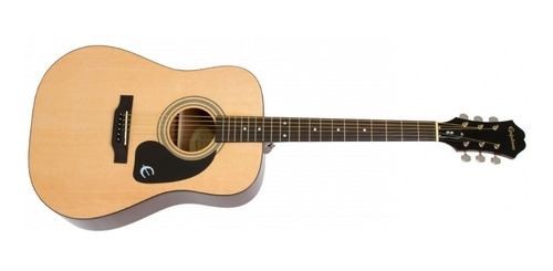 Guitarra Acustica EpiPhone Dr-100 Natural Dealer Autorizado