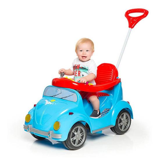 Carrinho De Passeio & Pedal Fusca Calesita - Bebês +12 Meses