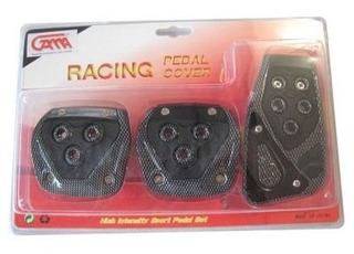Pedalera Covertor Racing Sincrónico Estilo Carbono
