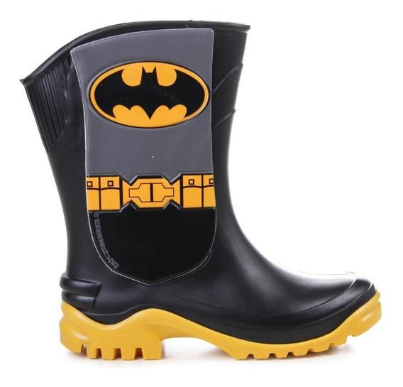 Botas Lluvia Niños Disney Batman Impermeables