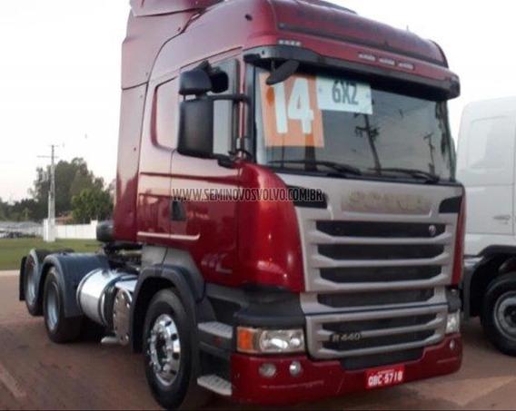 Scania R-440 A Highiline. 6x2 Vermelho 2014 Oferta