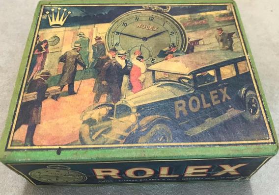 Rolex Estojo Relógio De Bolso - Raro