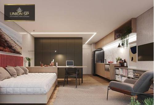Imagem 1 de 9 de Studio Com 1 Dormitório À Venda, 30 M² Por R$ 398.112,00 - Campo Belo - São Paulo/sp - St0823