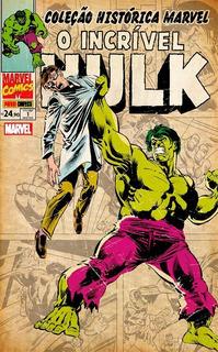Hq - Coleção Histórica Marvel - O Incrível Hulk #01