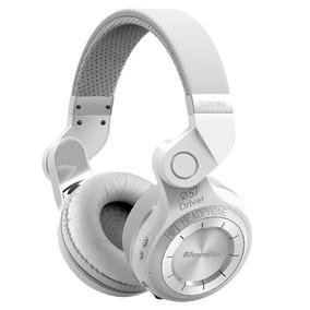 Fone Bluedio T2 Bluetooth Sem Fio Dobrável Original Branco