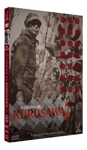 Dvd Cinema De Kurosawa Vol 2 C/cards Versatil Bonellihq L19