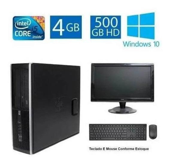 Computador Hp Elite 8100 I5 4gb 500gb Monitor 19