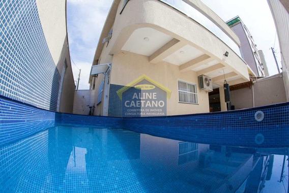 Casa Com 4 Dorms, Tupi, Praia Grande - R$ 720 Mil, Cod: Ac4200 - Vac4200