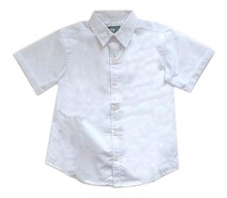 Camisa Básica Manga Corta Para Niño- Linea Colegial