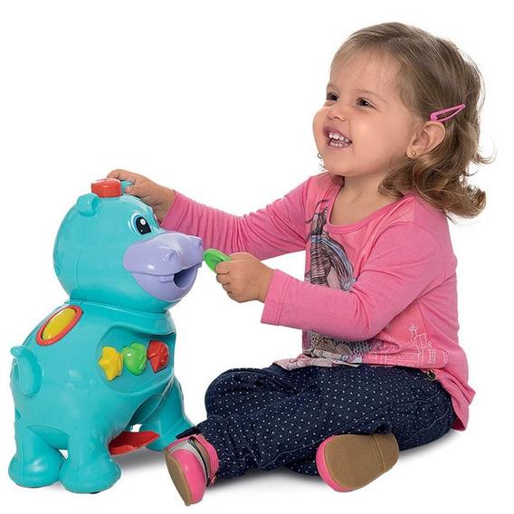 Brinquedos Educativos Bebê Amiguinho Comilão Hipopótamo