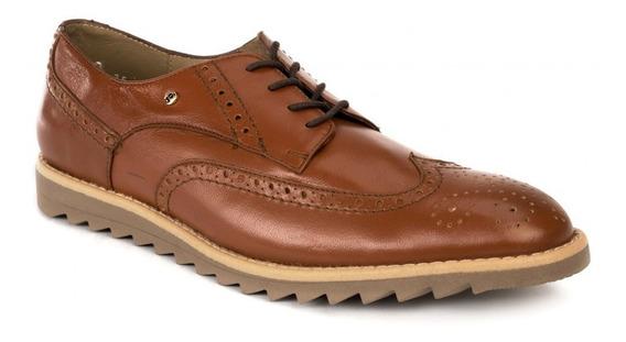 Zapato De Vestir Bostoniano Jarking 1020 Miel Para Caballero