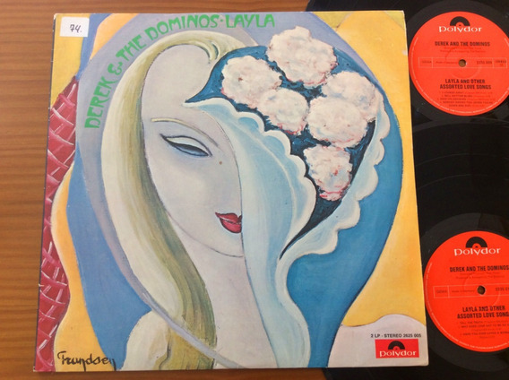 Lp Derek & The Dominos Layla And Other Assorted Love Alemanh