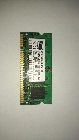 Memoria Sodimm Ddr2 512 Mb Promos