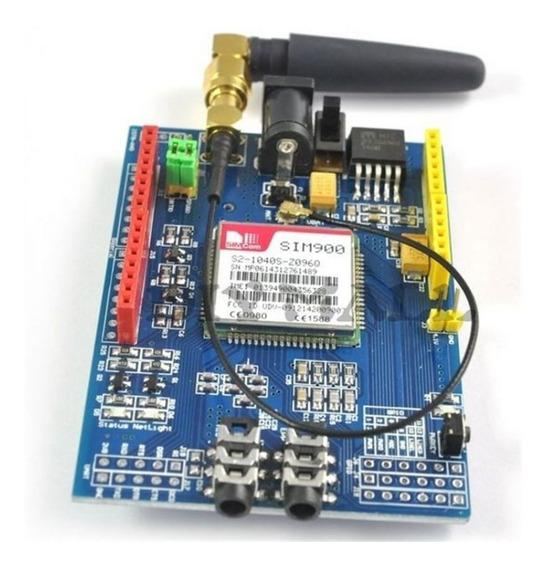 Shield Gsm Gprs Sim900 + Antena Para Arduino