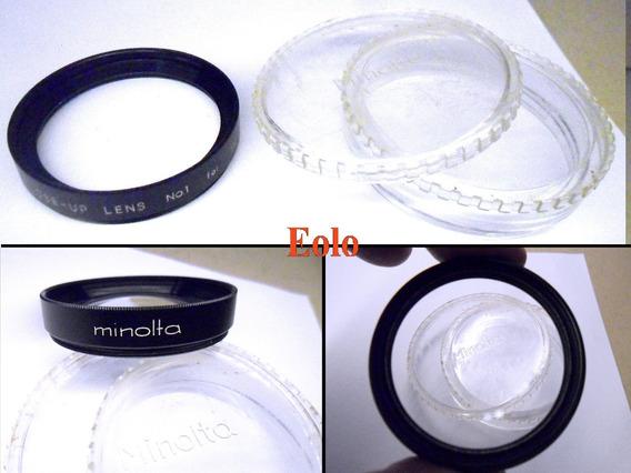 Lente Minolta Close Up Nº 1 - 52mm Perfeita *cx06