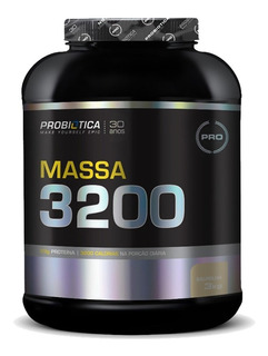 Hipercalórico Mass 3200 - 3kg - Probiótica