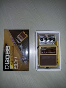 Pedal Boss Fender Bassman Fbm-1 Frete Gratis