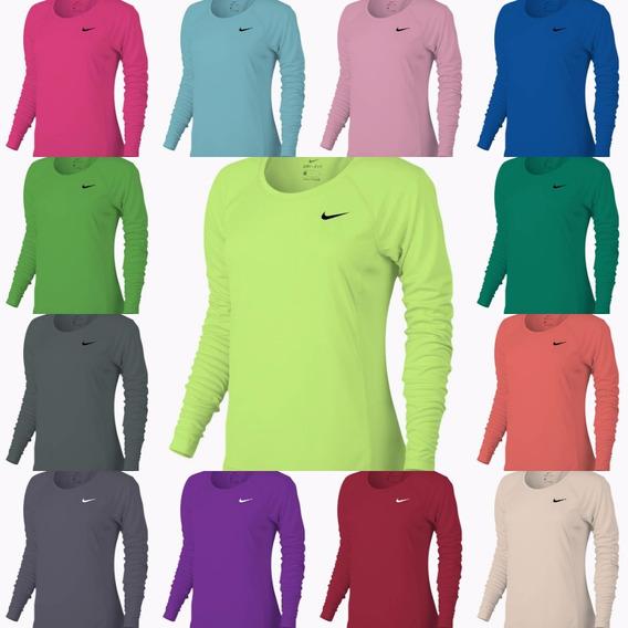 Suéter Nike Manga Larga Para Dama Dri-fit