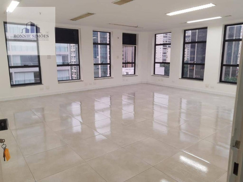 Imagem 1 de 6 de Sala Comercial Para Alugar Em Moema, 1 Sala, 2 Banheiros, 1 Vaga Na Garagem, 50 M², São Paulo. - Sa0534