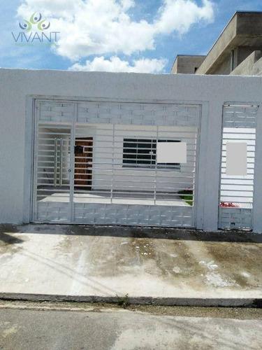 Imagem 1 de 22 de Casa Com 2 Dormitórios À Venda, 99 M² Por R$ 390.000,00 - Jardim Quaresmeira - Suzano/sp - Ca0319