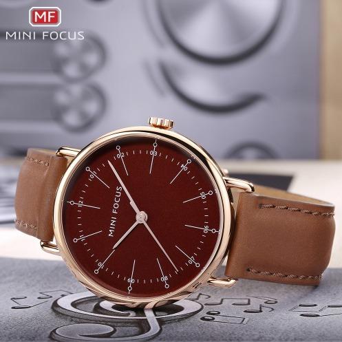 Relógio Mini Focus Mf0056g De Luxo Bom E Barato Original